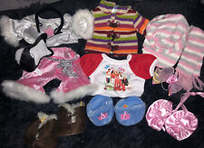 Lot of 11 Build A Bear Babw Clothes, Shoes, & Accessories Sweater, Hsm, Popstar