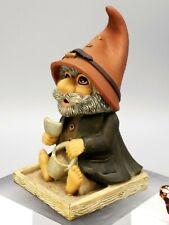 Gnomes Sleepy Hollow Figurine 1989 Bachwurks Holland Studio Sand Play