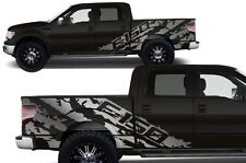 Custom Vinyl Decal Graphics F-150 SHREDS Wrap Kit for 2009-2014 Ford F150 SILVER