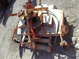 Allis Chalmers C AC tractor Woods L59 Belly mower w/ brackets & lift cylinder