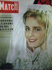 PARIS MATCH N° 0421 MARIA SCHELL JORDANIE AFRIQUE EN SCOOTER AEROSTAT 1957
