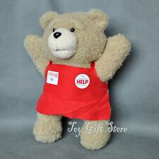 """Teddy 9.5"""" Ted Bear Plush Doll Stuffed Toy"""