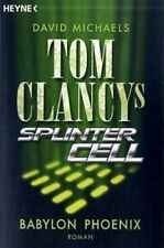 Buch - Tom Clancy's Splinter Cell: Babylon Phoenix Roman DEUTSCH