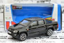 VW AMAROK 1:43 Car NEW Model Diecast Models Die Cast Metal Volkswagen Black