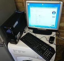 Acer Aspire X3200 AMD Athlon 2.40GHz de doble núcleo, 3GB Ram, 320GB HDD, Win 7 Home P