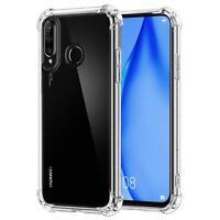 Hülle für Huawei P40 Lite E Schutzhülle Anti Shock Handy Case Transparent Cover