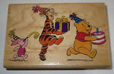 Pooh's Party Parade Rubber Stamp Tigger Piglet Winnie Disney Birthday Present