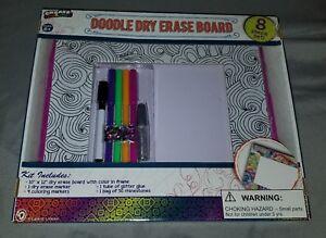 doodle dry erase board 8 piece Debbie Lynn create your own