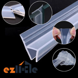 1m 10mm Seal Strip Screen Door Bathroom Shower Water Silicone Sep03
