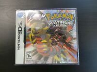 Nintendo DS Pokemon: Platinum Version Game Card Sealed for 3DS Lite NDSI DSI
