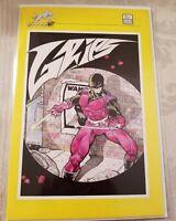 Grips #3 Signed Timothy B Vigil 1987 original early signature KEY NM+ cgc ready