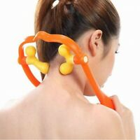 Hand Held Pain Relief Trigger Point Self Massage Tool Neck Shoulder Massager