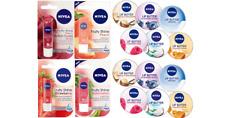 Nivea Lip Care Balms 4.8g, Lip Butter 16.7g & Lip Balm Crayon 3g Pearly Shine