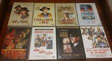 7 DVD SERGIO LEONE C'ERA UNA VOLTA IN AMERICA PER UN PUGNO DI DOLLARI DJANGO