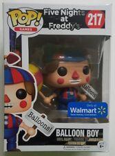 Funko POP Walmart EXCLUSIVE Balloon Boy #217 FNAF Five Nights at Freddys Figure