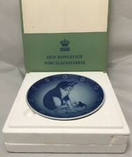 Nib Royal Copenhagen Mother Cat And Kitten 1983 Vestergaad