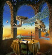 HD Canvas Print home decor wall art painting,michael cheval-136 20x20inch