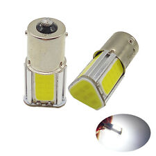 2x BA15S 382 1156 R10W 382 4 COB LED 5W Turn Signal Light Lamp White Bulb 12V UK