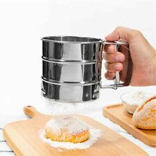 IKEA IDEALISK Flour Sifter Stainless Steel Tapioca Flour Coconut Flour Cake Flou