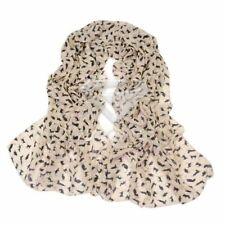 Unbranded Chiffon Animal Print Scarves and Wraps for Women