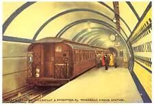 uk6217 piccadilly circus station london uk tube train metro underground
