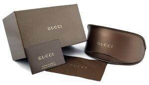 Brand New Gucci Case Gold Sunglasses Eyeglasses Soft Authentic Eyeglass Cloth S