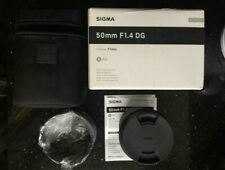 Sigma Objektiv  50 mm F1,4 DG HSM Art 77mm  (A)  für Sigma