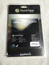 Garmin huntview maps GPS Washington
