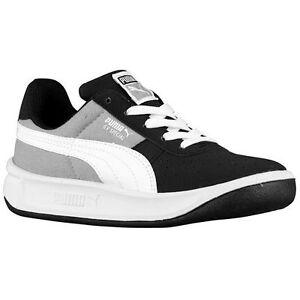 New BABY Puma GV Special CVS Jr Black Limestone Gray White Sneaker Toddler Boys