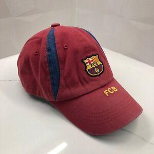 FC Barcelona Official Club Team Youth Kids Baseball Cap Vintage