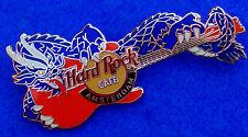 AMSTERDAM DUTCH EURO BLUE *DRAGON GUITAR SERIES* 2003 Hard Rock Cafe PIN LE