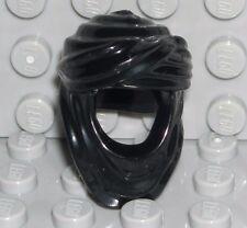 LEGO Black Minifigure Headgear Keffiyeh Headdress Zolm Minifigure 7572