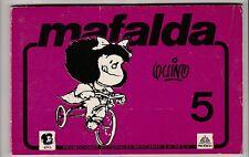 Mafalda 5 Quino J S Lavado Promexa Mexico  1984 * en espagnol