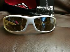 NEW WILEY-X REVOLVR Sunglasses Pearl White frame Bronze Silver Flash lens SSREV3