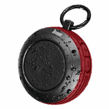Divoom Voombox Travel Rugged Portable Wireless Bluetooth 4.0 Speaker RED