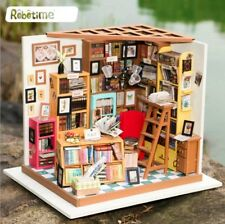 Robotime DIY 3D Model Kit LED Light Miniature Woodcraft Gift Sam's Bookstore UK