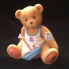 Cherished Teddies Birthday Bear August #914827 - Arthur - Smooth Sailing