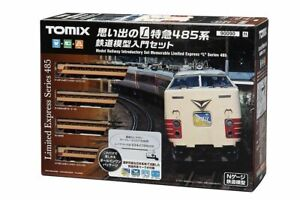 Tomix 90090 Introductory Set Memorable Limited Express L Series 485 Starter Set