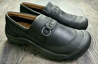 Keen Womens Shoes Size 9 Kaci II Leather Slip-on Black