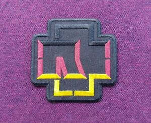 Rammstein Patch Sew / Iron On Music Festival Badge (b)