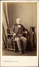 CDV by Levitsky, Seated Gentleman