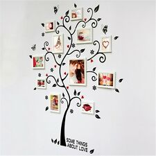 Removable Family Tree Wall stickers Photo Frame Vinyl Decal Mural Home Kid Decor