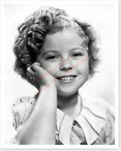 Actress Child Star Shirley Temple Silver Halide Photo