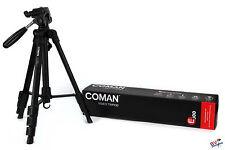 Coman E800 Dreibeinstative für Camcorder und DSLR Kameras Video Stativ Nikon