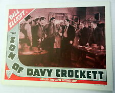 THE SON OF DAVY CROCKETT Film Lobby Card Bill ELLIOTT 1941