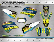Husaberg TE 125 250 300 2011 2012 graphics decals kit Moto StyleMX
