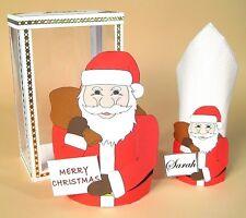 A4 Card Template- Santa Bag/Serviette Holder