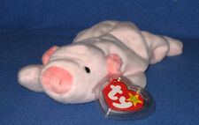 TY SQUEALER the  PIG BEANIE BABY - MINT with MINT TAGS