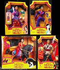 Riding Mulan Khan Secret Hero Captain Li Shang Matchmaker Magic Disney Doll