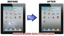 Apple iPad 2nd 3 4 Air 1 Digitizer Glass Screen Replacement Repair Service FAST